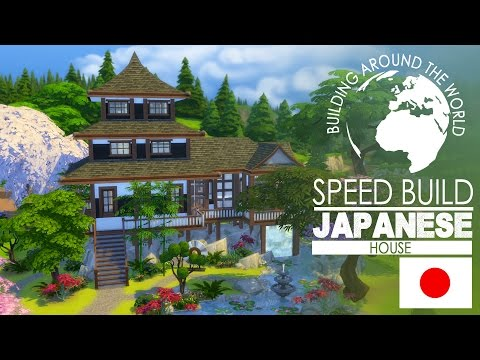 The Sims 4 - Speed Build - Japanese House (Around the World)
