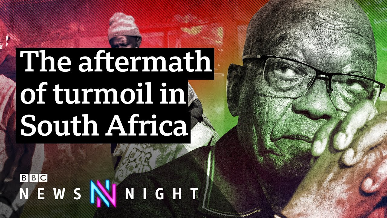 South Africa riots: Is recent unrest a sign of deeper tensions? - BBC Newsnight