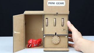 How to Make Safe Locker 2 Level from Cardboard