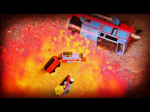 Thomas The Tank Engine - Accidents Can Happen with EXPLOSION !