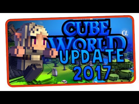 TOT GEGLAUBTES SPIEL KEHRT ZURÜCK | Cube World Update 2017 | Cube World News | NerdDings