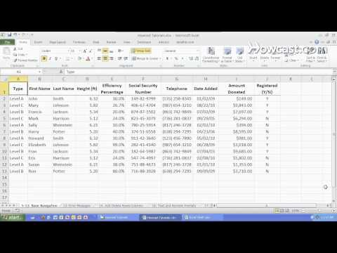 How to Move Quickly within a Worksheet   Microsoft Excel