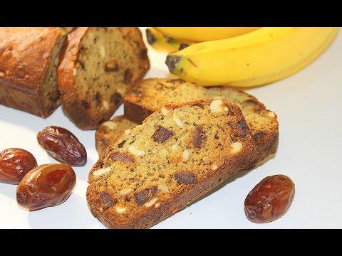 No Egg - No Butter Dates Banana Cake By Pachakalokam