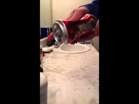 How to make a bowl out of a can