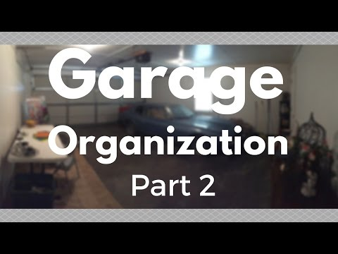DIY Room Makeover | Garage Organization Part 2
