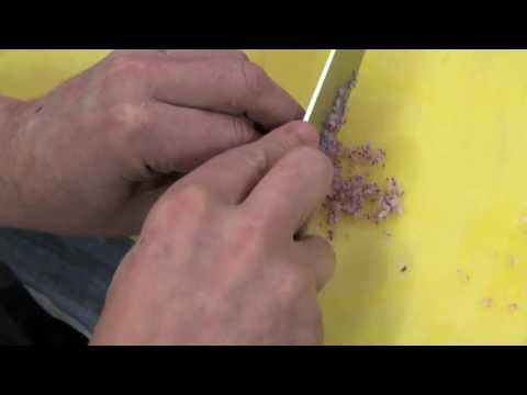 Marco Pierre White - How to finely chop onions