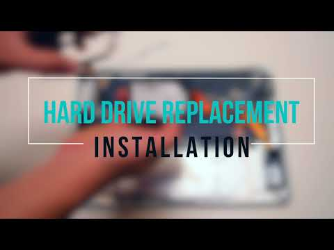 Macbook Air 2008 and 2009 A1237 and A1304 Hard Drive Replacement
