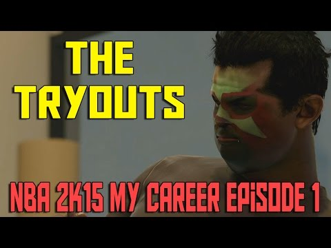 THE TRYOUTS | NBA 2K15 My Career Xbox One