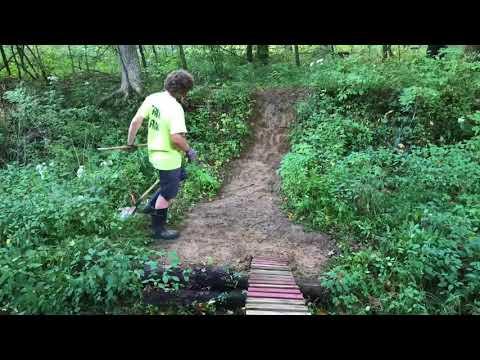 Backyard MTB Trail Clean Up Ep. 3