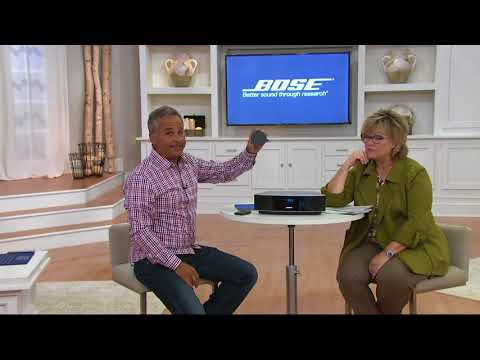 Bose Wave Radio IV with Top Touch Controls on QVC