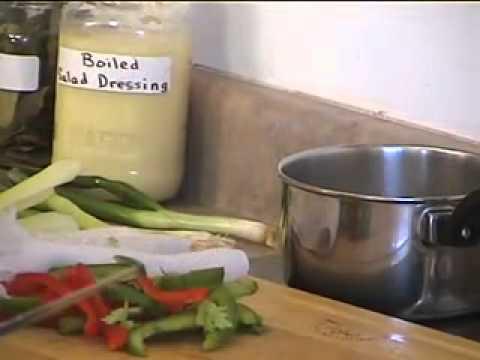 SALADS 06 Preparing  and storing raw vegetables