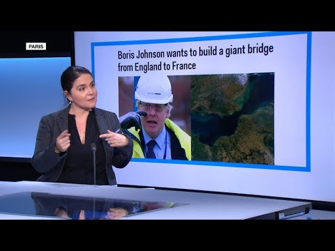 'Boris Johnson wants to build a giant bridge from England to France'