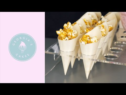 How To Make Salted Caramel Popcorn | Georgia's Cakes