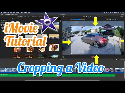 iMovie Tutorial - How to Crop a Video