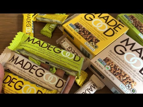 Opening Madegood Granola Bars