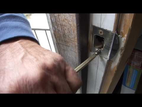 Greg Zanis Shows A Simple Fix For A Loss Door Latch Plate