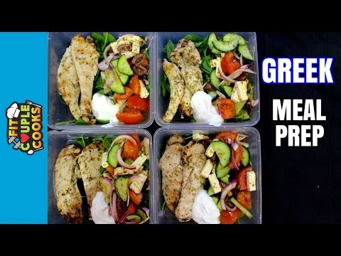How to Meal Prep - Ep. 26 - CHICKEN SOUVLAKI | CHICKEN MEAL PREP
