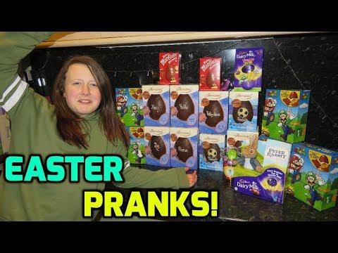 Easter Egg Hunt And Easter Pranks!!