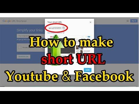 How to make short URL, Link for Facebook and Youtube (Speak Khmer)