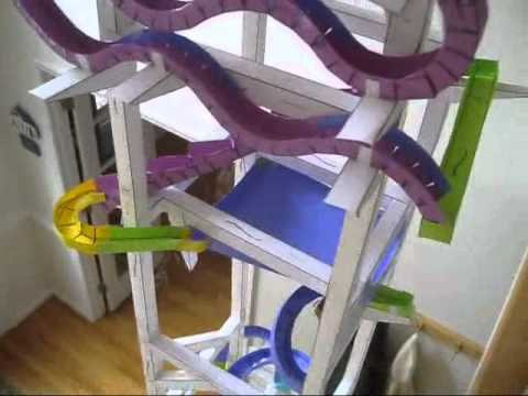 World's Greatest Paper Roller Coaster