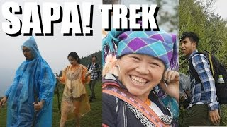 SAPA VIETNAM TRAVEL - Intense 6 Hour Trek into the DEEP. Vlog #51