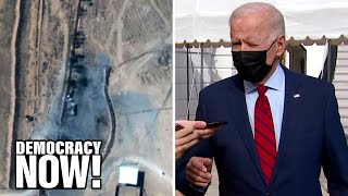 "Biden ""Illegally"" Bombs Iranian-Backed Militias in Syria, Jeopardizing Nuclear Talks with Tehran"