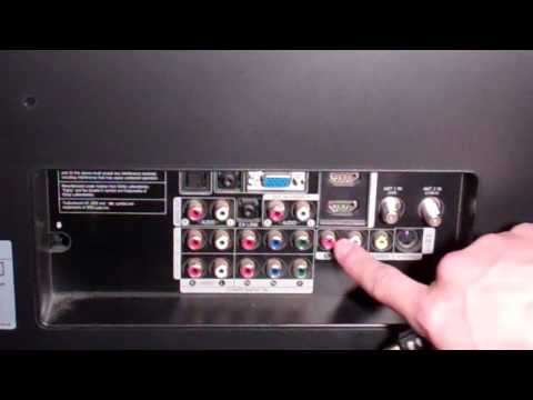How To Hook Up PS3 To HDTV - W/ Instructions