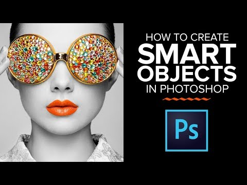 Photoshop Smart Objects: How to CREATE a Smart Object