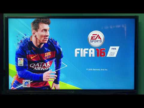 Xbox 360 Display resolution settings for best gaming experience for FIFA Game