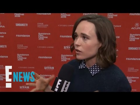 Ellen Page on the Challenge of Acting With a Baby   E! News
