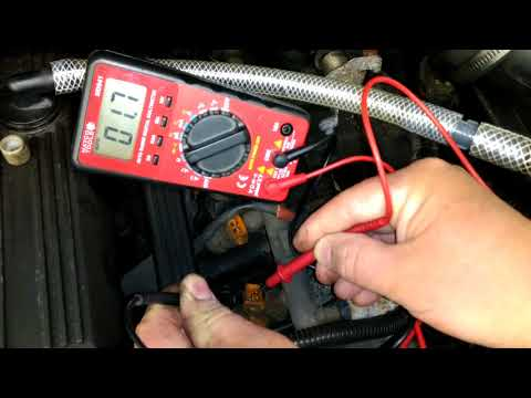 1991 Jeep Wrangler YJ How to Ohm test fuel injectors