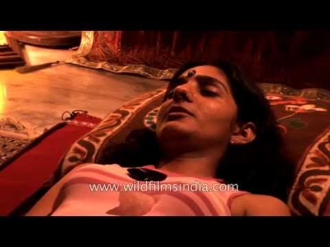 Watch a Past life regression therapy take place in India