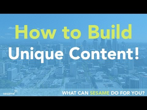 Build Unique Content For Your Website, Blog and Social Media!