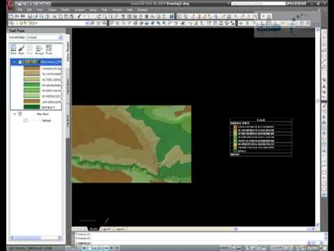 CADline - AutoCAD Map 3D - Creating Contours From a DEM File