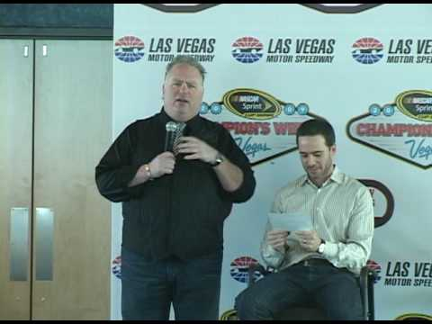 NASCAR Roast for Champ Jimmie Johnson - Kevin Burke Driving License Routine.dv