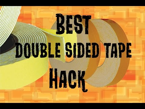 Double Sided Tape Hack