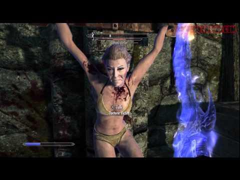 Elder Scrolls V: Skyrim - Torture Chamber Quick Level Grind