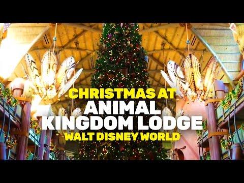 Christmas at Animal Kingdom Lodge 2016 (Walt Disney World)