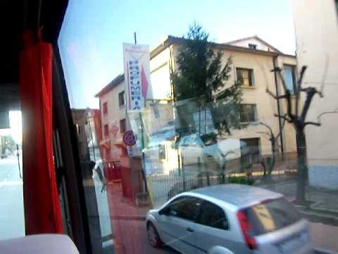 Bus to San Gimignano