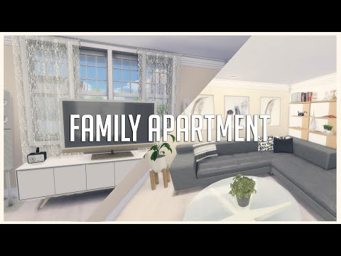 The Sims 4: House Build | Family Apartment