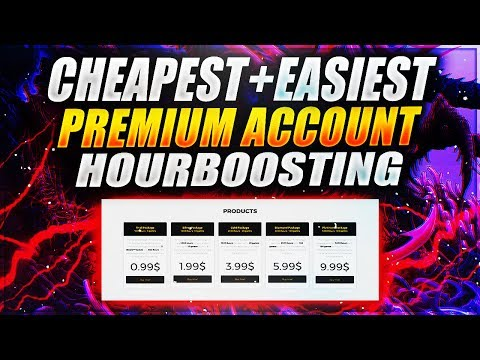 THE CHEAPEST + EASIEST TO USE HOUR BOOSTER EVER! (HourBoost.com)