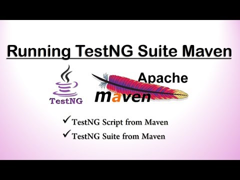 Running TestNG from Maven