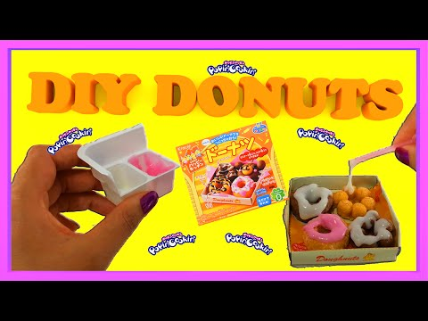 Kracie Popin' Cookin' Donuts: English Instructions 🍩 How to make donuts