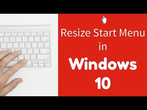 Windows 10 Tip #2: Resize your start menu