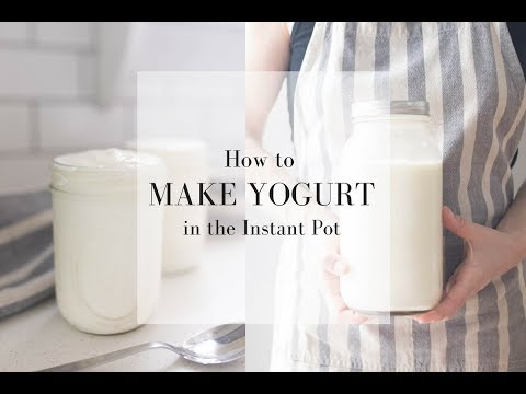 HOW TO MAKE YOGURT IN THE INSTANT POT | How to Make Homemade Fermented Foods