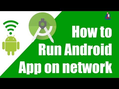 Android Studio: Run android app over the network on the android studio