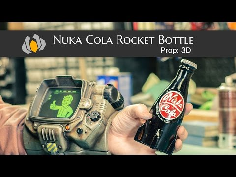 Prop: 3D - Season 1, Episode 3 - Nuka Cola Rocket Bottle