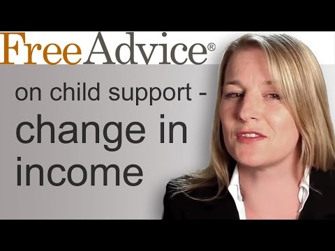 Child Support Change in Income