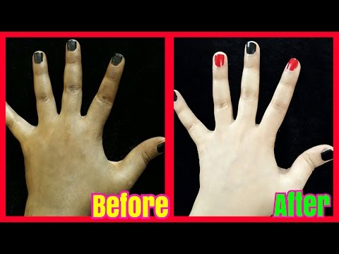 Get Instant Fair Skin and Remove Skin Tan Naturally at Home
