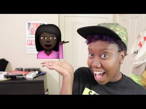 black y brown emojis are here!!!  | day 9 | veda 2015